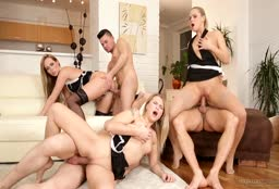 Sex Party In The Livingroom