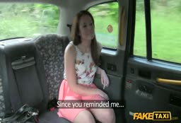 Slut Gets Her Pussy Licked In Fake Taxi